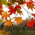 Fall Registration- Classes start Sept. 8th!
