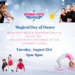 Join Us for FREE classes August 31st