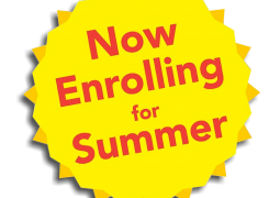 ENROLL in Summer Classes for July & August!