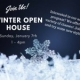 Adult Program- Winter Open House Sunday, January 7th 1-4pm