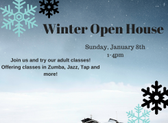 Winter Open House for  Adults- Try classes, special discounts, and more!